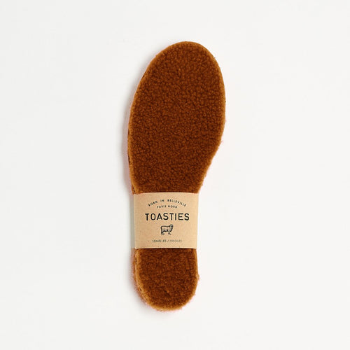 Toasties - Teddy insoles