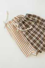 checkers, stripe  baby short