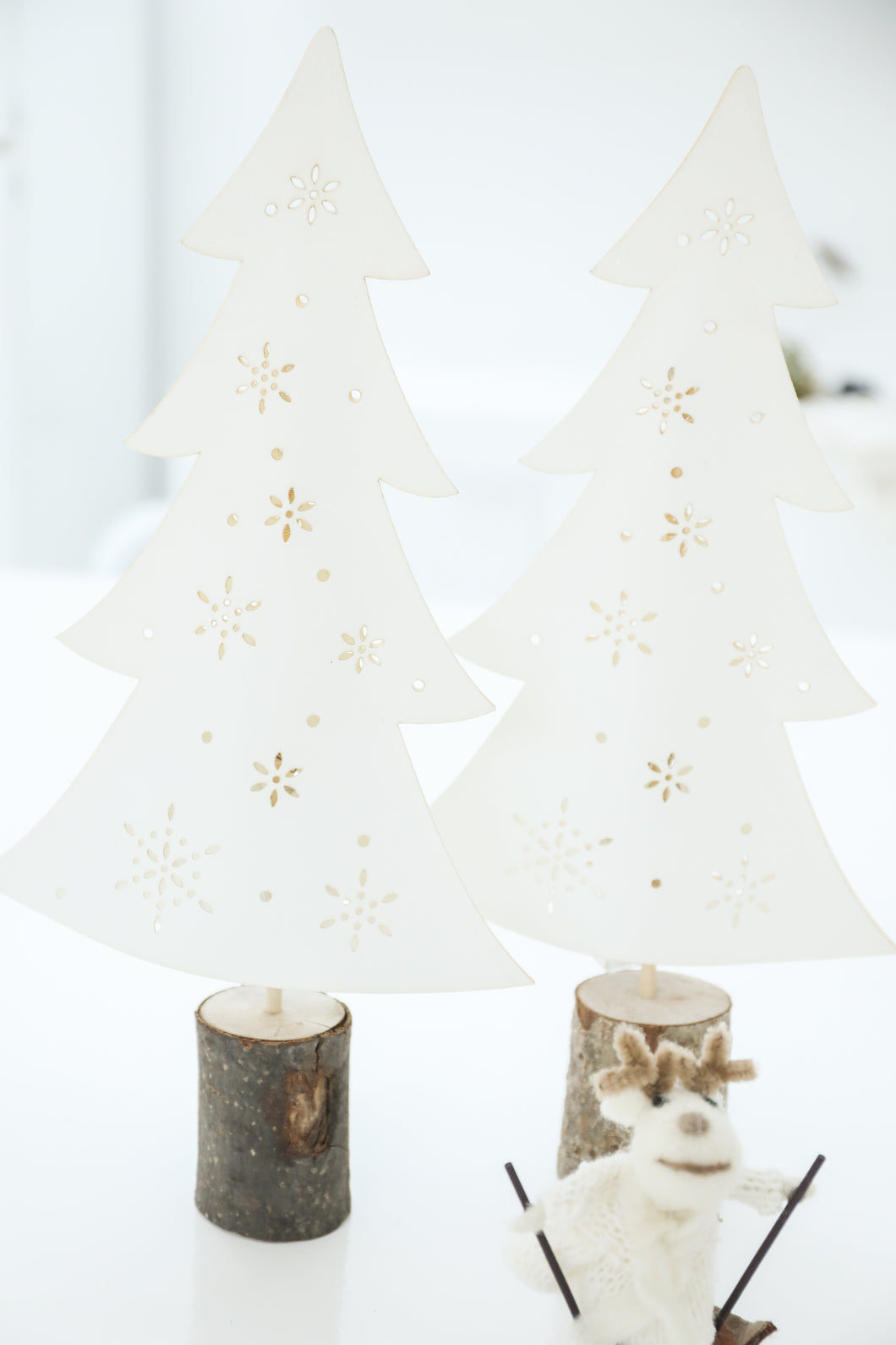 LED paper christmas tree