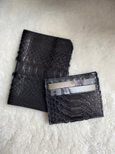 Passport and credit card holder