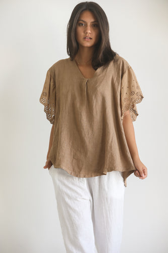 linen / cotton tee shirt