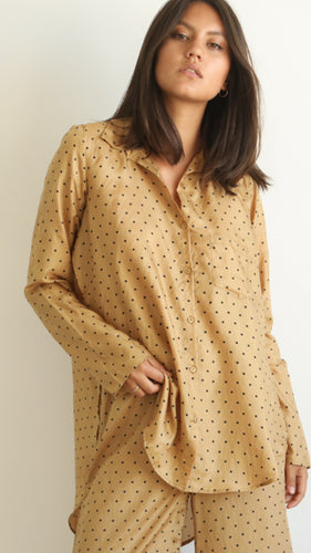 Mes Demoiselles - Boy ochre shirt