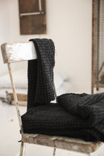 Autumn - Set of two black towels