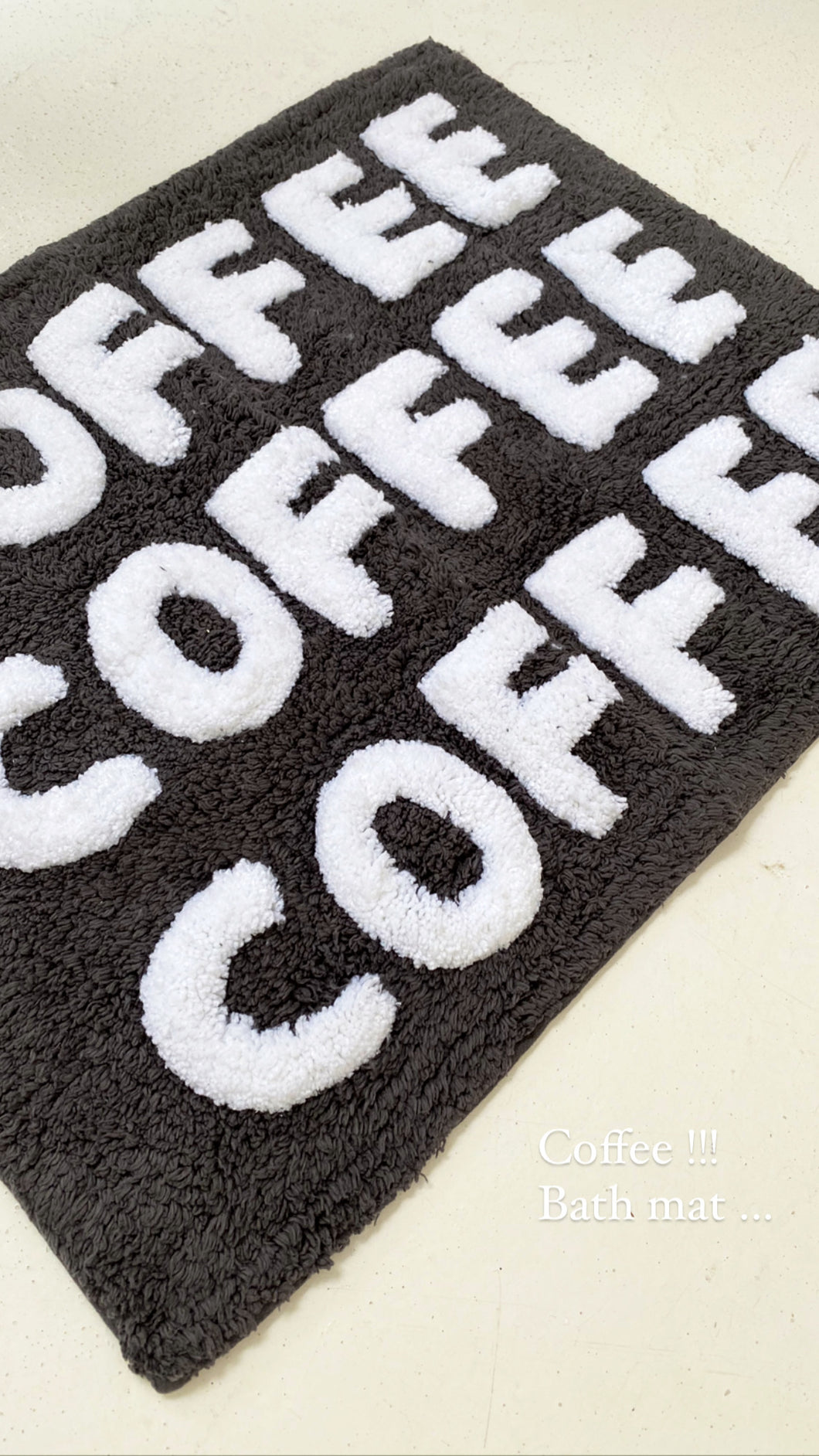 coffee bathmat