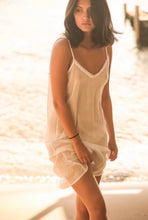 cotton voile slip dress