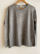 CT Plage - Wool and alpaca square long sleeves jumper