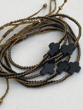 little black cross in magnesite