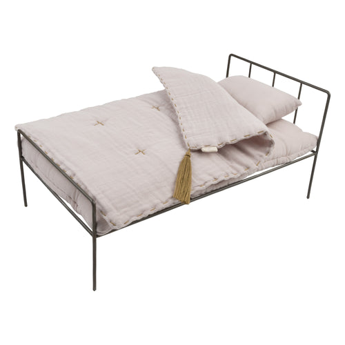 numero 74 - Doll metal bed set powder