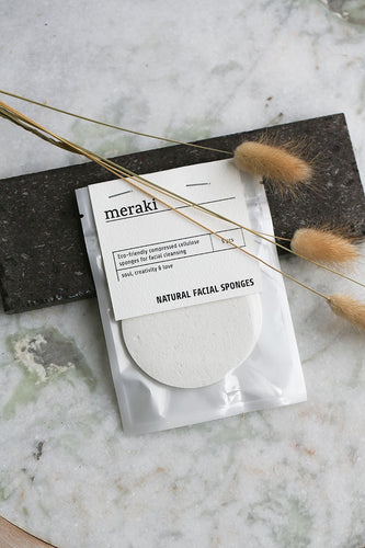 Meraki - Natural facial sponges