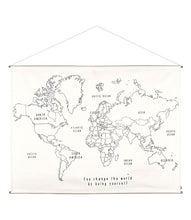 numero 74 - World map poster kit