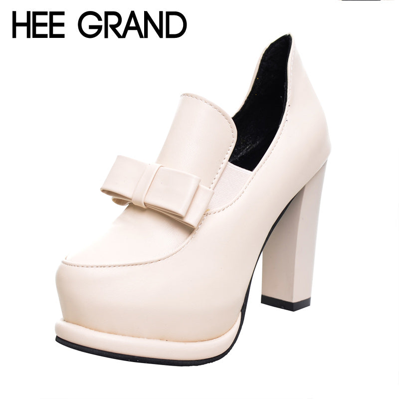 High Heel Ankle Pumps