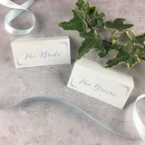 Posy Cornflower - Wedding Placecards