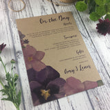 Kraft Country Garden - Guest Information Cards