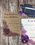 Country Garden - Guest Information Cards