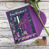 Midnight Country Garden - Guest Information Cards