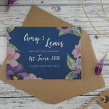 Midnight Country Garden - Save the Date Cards