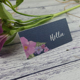 Midnight Country Garden - Wedding Placecards