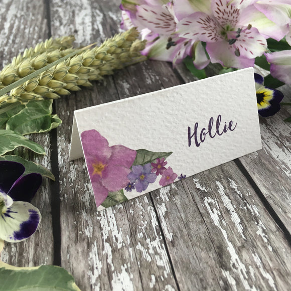 Country Garden - Wedding Placecards