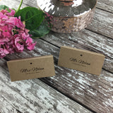 Rustic Lace - Wedding Placecards