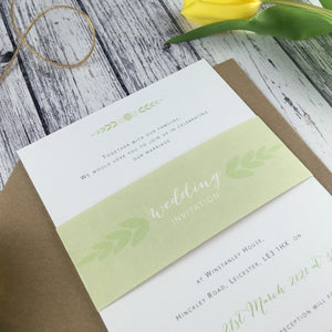 Posy Sage - Wedding Belly Bands