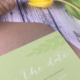 Posy Sage - Save the Date Cards