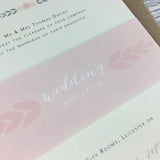 Posy Pink - Wedding Belly Bands
