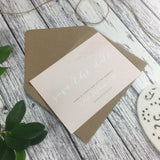 Posy Pink - Save the Date Cards