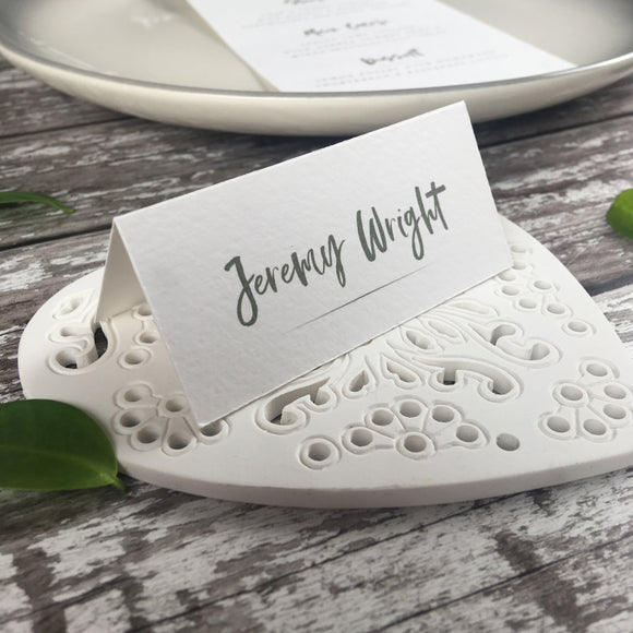 Rustic Heart - Wedding Placecards