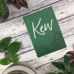 Succulents - Wedding Table Name Cards
