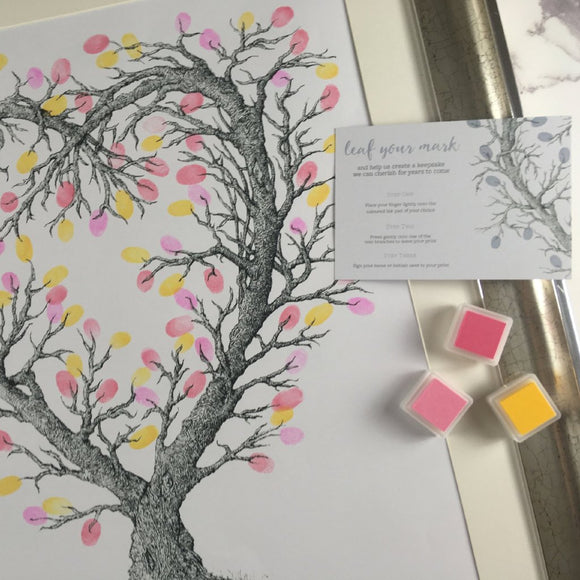 Fingerprint Occasion Tree - Alternative Guest Book
