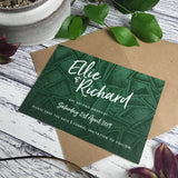 Succulents - Save the Date Cards