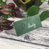 Succulents - Wedding Placecards