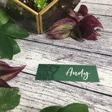 Succulents - Wedding Name Tags