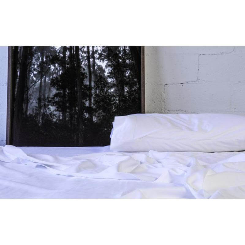 Organic Cotton Sateen Pillow Cases