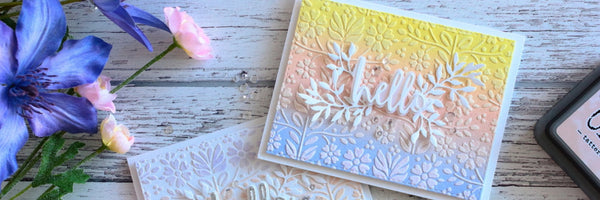 Distress Oxide & Modeling Paste Cards