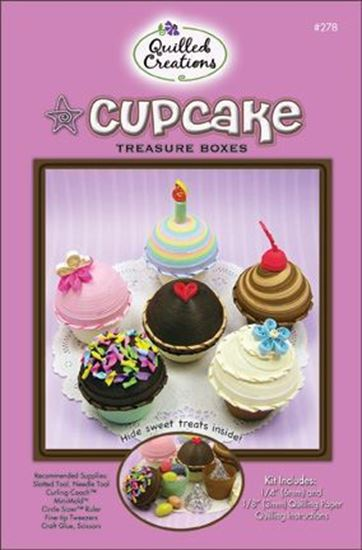 Quilled Creations Kit - Cupcake Treasure Boxes