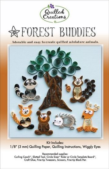 Quilled Creations Kit - Forest Buddies