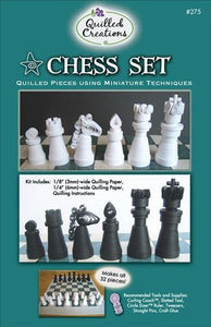 Quilled Creations Kit - Chess Set