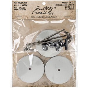 Tim Holtz Metals - Photo Clip Kit