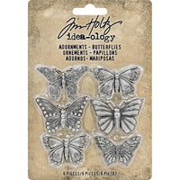 Tim Holtz Metals - Butterflies