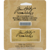 "Tim Holtz Tiny Attacher Refill Staples .25"" 1,550/Pkg"