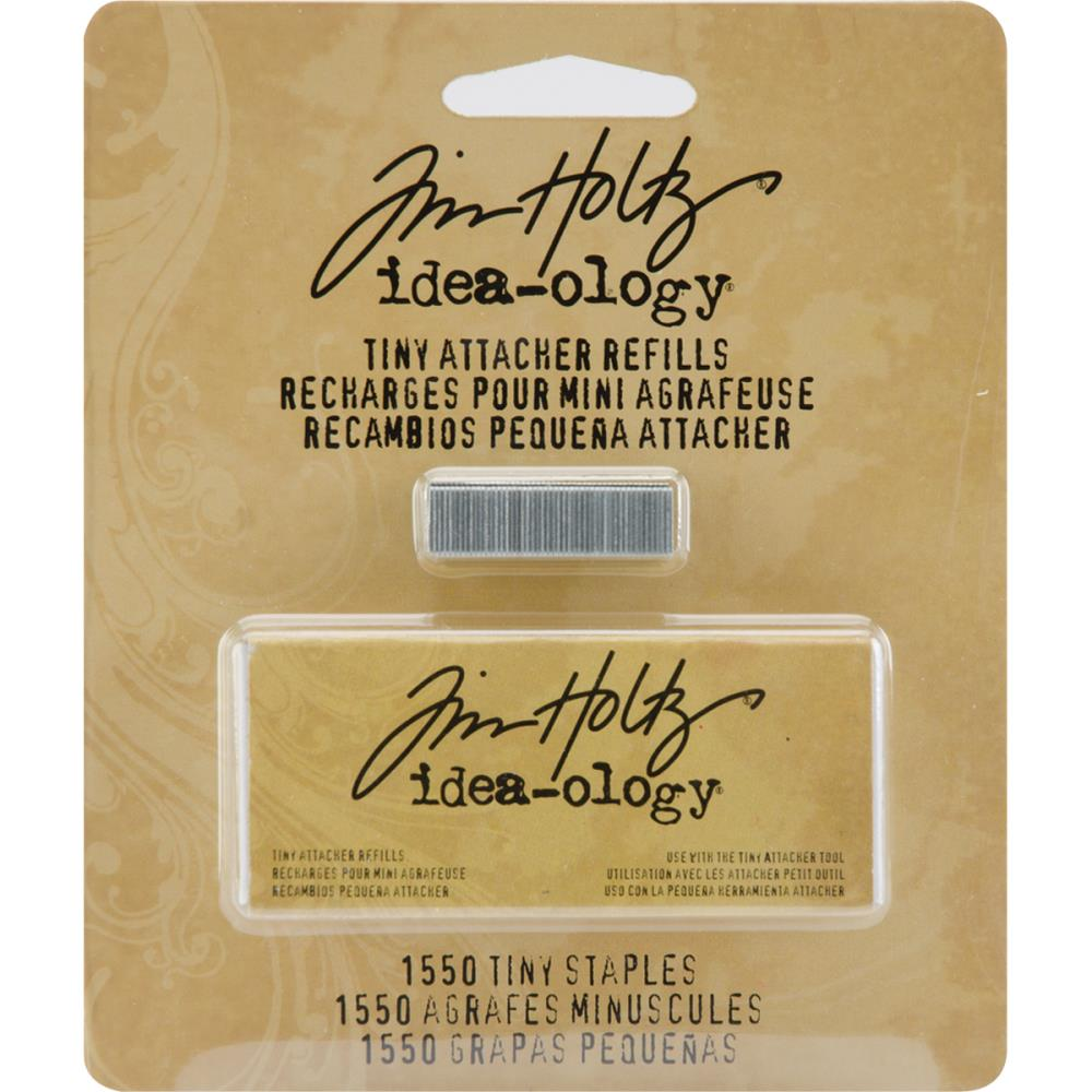 Tim Holtz Tiny Attacher Refill Staples .25