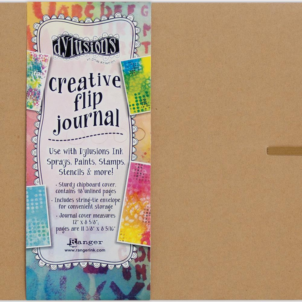 Dylusions Journal - 11 3/8 x 8 5/16 White Paper