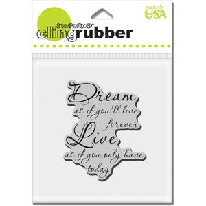 Stampendous Stamp - Dream Forever