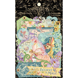 Graphic 45 Ephemera - Fairie Wings
