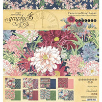 "Graphic 45 Paper Pack 8"" x 8"" - Blossom"