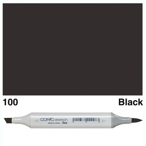 Copic Sketch Markers - Black/Colourless