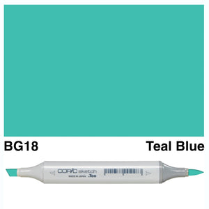 Copic Sketch Markers - Blue Green