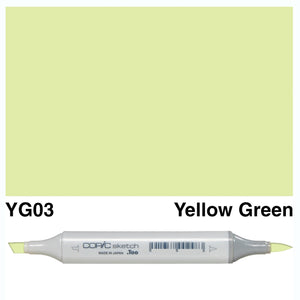 Copic Sketch - Yellow Green