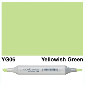 Copic Sketch Markers - Yellow Green